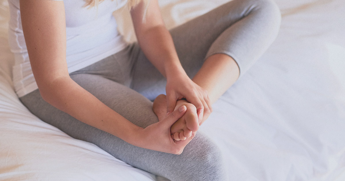 Why do your legs fall asleep & what to do when it happens?