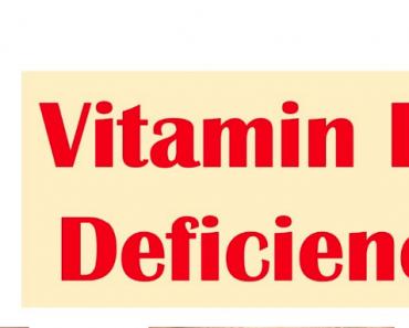 Vitamin B6 Deficiency Symptoms