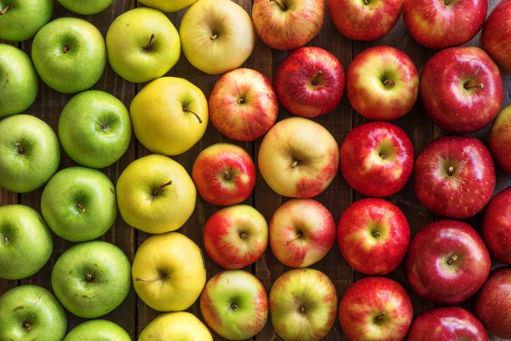 Apples lowers the risk of cancer