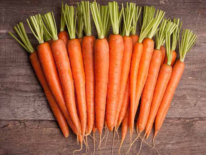 Carrots helps in preventing cancer