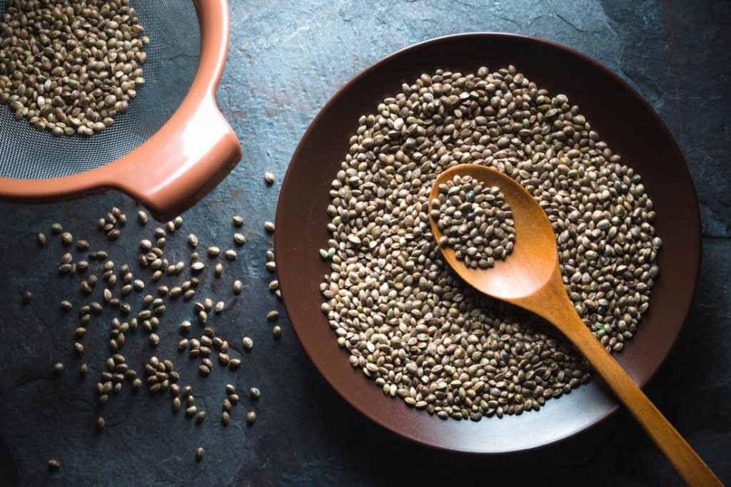 Hemp Seeds can reduce inflammation